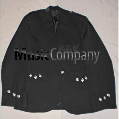 Black Argyle/Argyll Scottish Kilt Jacket with vest