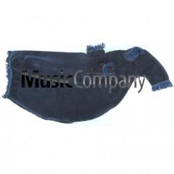 Navy Blue Velvet Bagpipe Cover