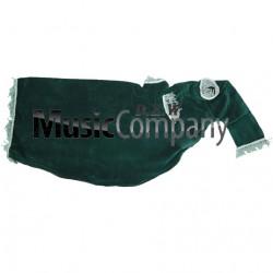 Green Velvet Bagpipe Cover