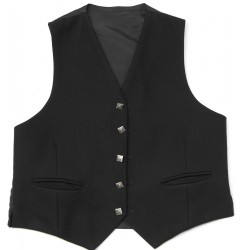 Black Prince Charlie Scottish Kilt Waistcoat