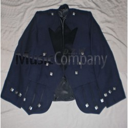 Blue Regulation Doublet Kilt Jacket and Vest