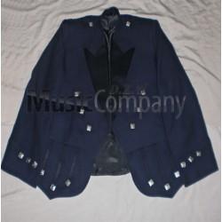 Blue Regulation Doublet Kilt Jacket and Vest