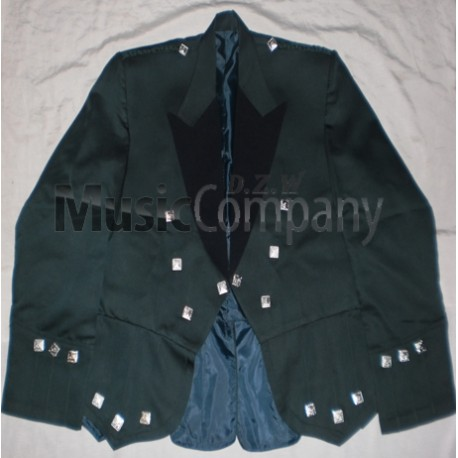 Green Regulation Doublet Kilt Jacket and Vest