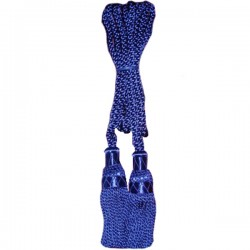 Royal Blue Silk Bagpipe Drone Cord