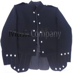 Black Sheriffmuir Doublet Kilt Jacket and Vest
