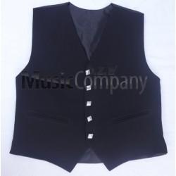 Black Sheriffmuir Doublet Kilt Waistcoat