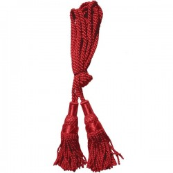 Red Silk Bagpipe Drone Cord