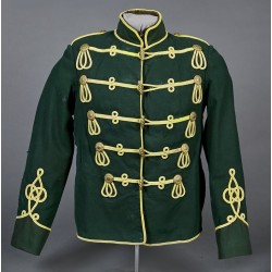 Green German Hussar Atilla Pre War Jacket