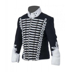 Black Prussian Hussars Pelisse Jacket