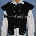 Black Chieftain Jacobite Kilt Waistcoat