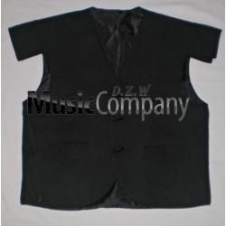 Black Jacobite/Jacobean Kilt Waistcoat