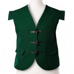 Green Jacobite/Jacobean Kilt Waistcoat