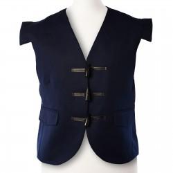 Navy Blue Jacobite/Jacobean Kilt Waistcoat