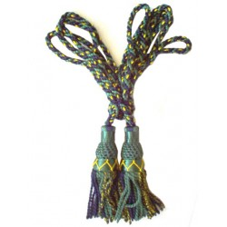 Multi Color Gordon Silk Bagpipe Drone Cord