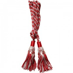 Multi Color Red & White Silk Bagpipe Drone Cord