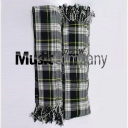 Piper Black Stewart Pleated Plaid