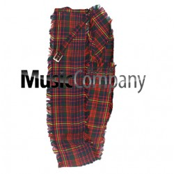Cameron Ancient Drummer Plaid Pleated