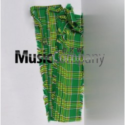 Irish National Drummer Plaid Pleated