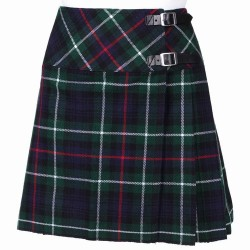 Ladies MacKenzie Scottish Mini Billie Kilt Mod Skirt