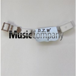 Hussar White leather Cross Belt and Cartouche