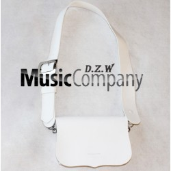 White PVC Cross Belt & Pouch Device