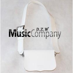 White PVC Cross Belt & Pouch Device