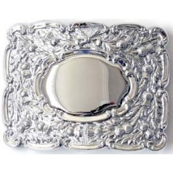 Military Thistle Waist Belt Buckle