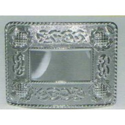 Celtic Thistle Waist Belt Buckle