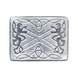 Highland Saltire Waist Belt Buckle