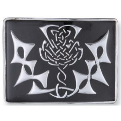 Highland Thistle Waist Belt Buckle