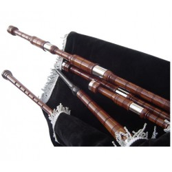 Natural Rose wood Colored Lowland bagpipe