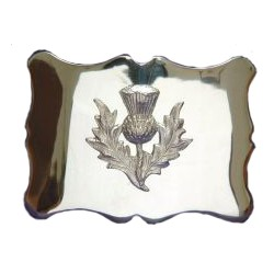Scottish Thistle Waist Belt Buckle
