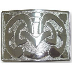Thick Celtic Design Waist Belt Buckle