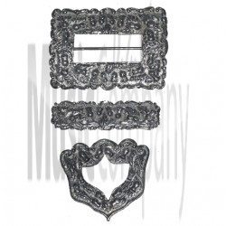 Scots Guards Cross Belt Buckle Set