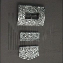 Shamrock Cross Belt Buckle Set