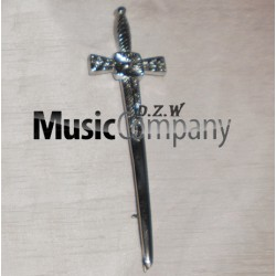 Cross Swords Kilt Pin