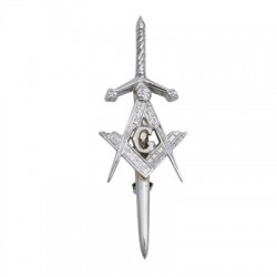 Masonic Swords Kilt Pin