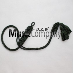 Royal Military Rifles Green/Black Colour Dress Uniform Cord