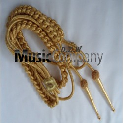 Army Shoulder Aiguillette Gold Wire Cord