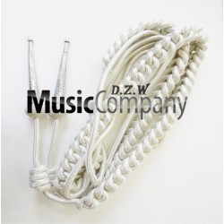 Army Shoulder Aiguillette Silver Wire Cord
