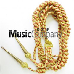 Army Shoulder Aiguillette Gold/Red Wire Cord