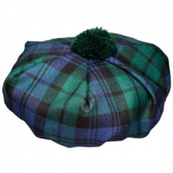 Black Watch Tartan Tammy Hat
