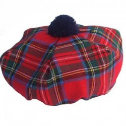 Royal Stewart Tartan Tammy Hat
