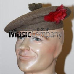 Officer's, Black Watch Cap, 1915 Pattern Tam-o-Shanter Hat