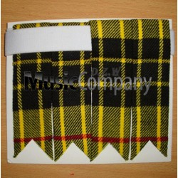 Macleod Lewis Tartan Scottish/Highland Kilt Sock Flashes