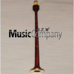 Engraved Rosewood Bagpipe Chanter