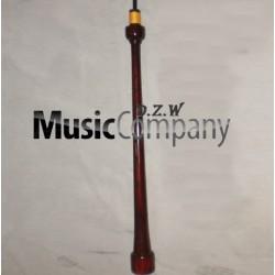 Engraved Rosewood Bagpipe Chanter