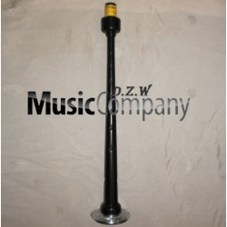 Engraved Black Plastic Bagpipe Chanter