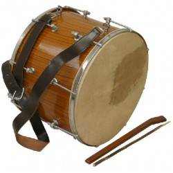 "Tupan Drum, 16"", Bolt Tuned"