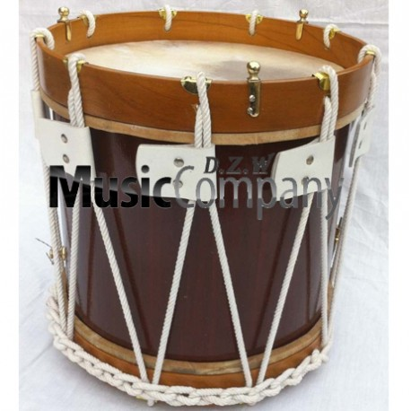 Renaissance Drum 14 inches  x 12 inches Military Heritage Drum with Stick and Belt